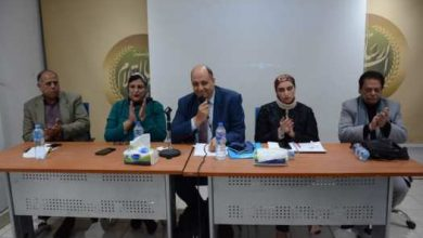 Photo of «أنا إنسانة فلا تؤذيني» في دار النخبة برعاية شبكة المرأة العربية